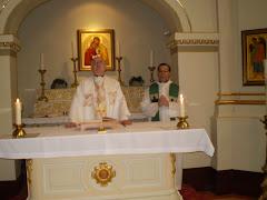 Martini y Morre. Capilla San Luis Rey de Francia. Catedral de Notre Dame de Quebec