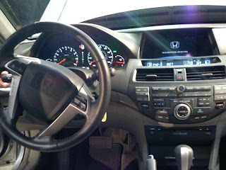 The Mags Report 2008 Honda Accord Interior Unmasked