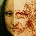 El genio Leonardo da Vinci chequeando a su creatura
