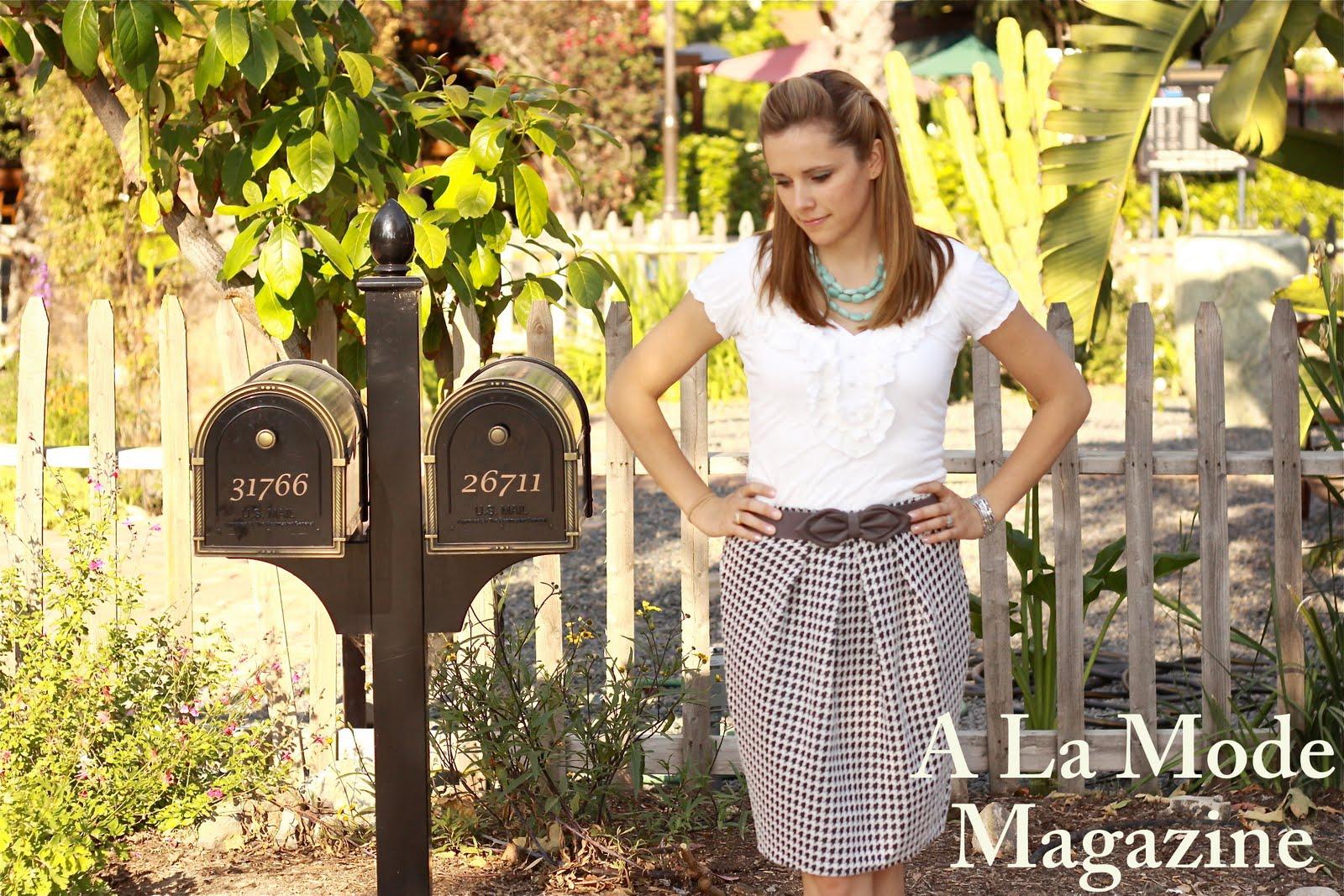 A La Mode Magazine
