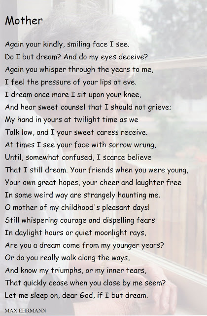 Missing Mother Poem http://threadsintimebypallas.blogspot.com/2008/03/missing-my-mother-ten-years-ago-today.html