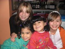 4 vrolijke meiden