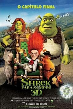 Filme Poster Shrek Para Sempre DVDRip XviD Dual Audio & RMVB Dublado