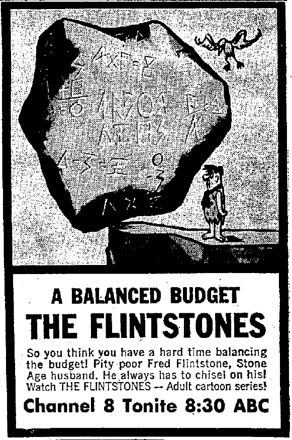 The first episode that aired was 'The Flintstone ...