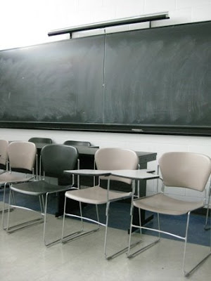 A classroom at York University