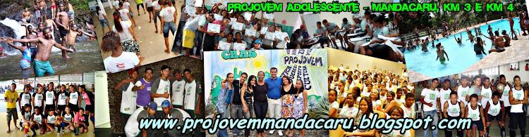PROJOVEM Adolescente - Mandacaru Jequié - Bahia
