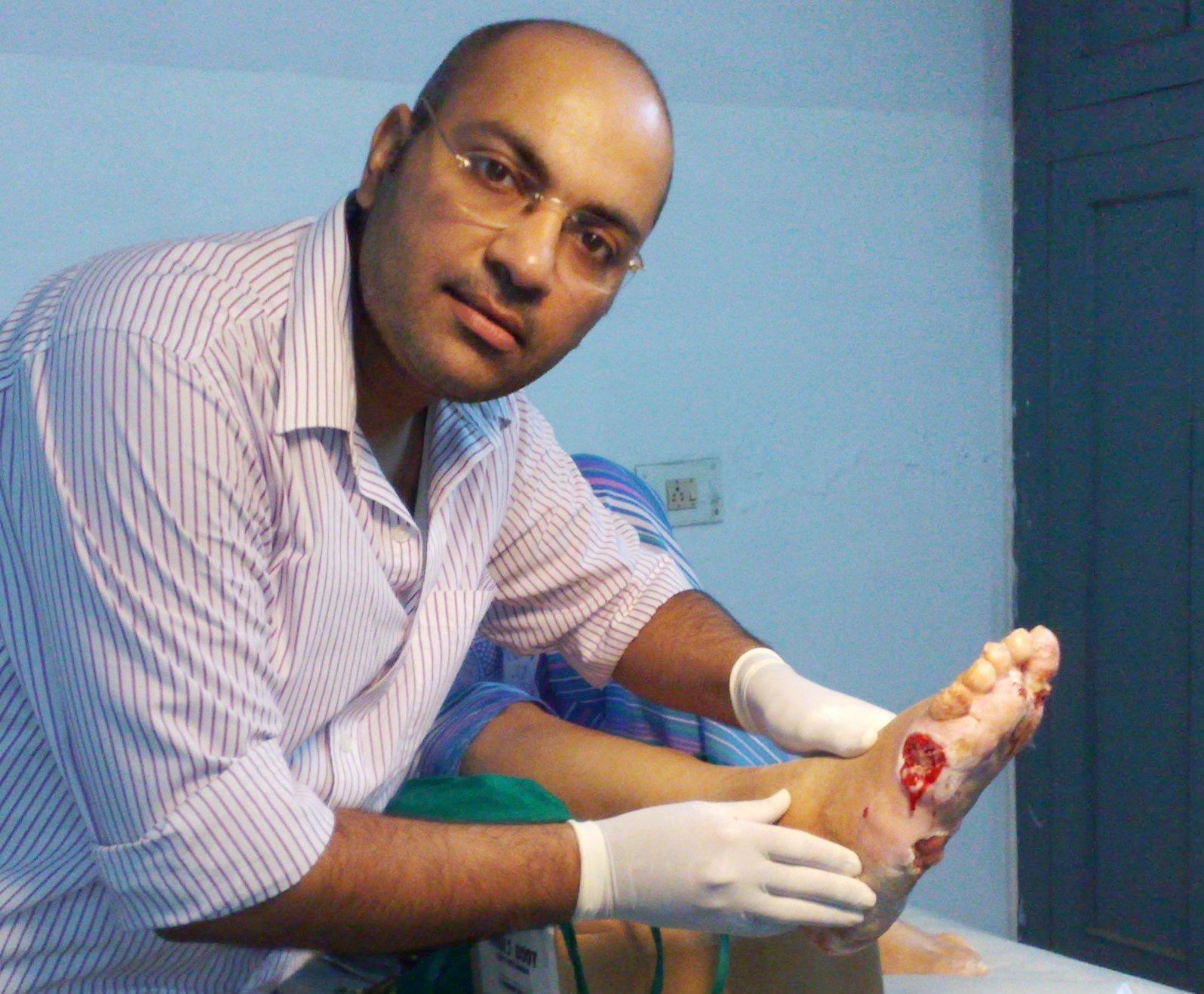 Diabetic foot care regimen 2013