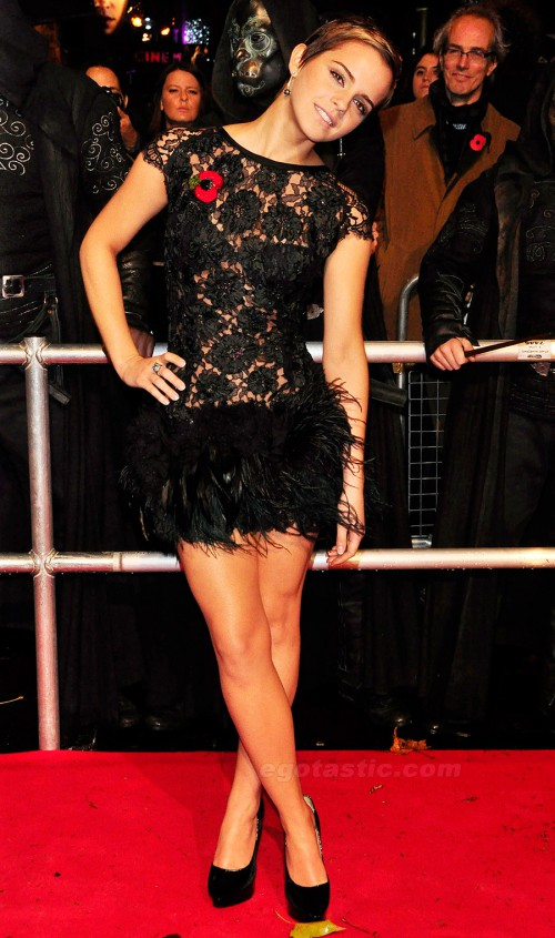 Emma Watson at the Harry Potter Premiere 2010