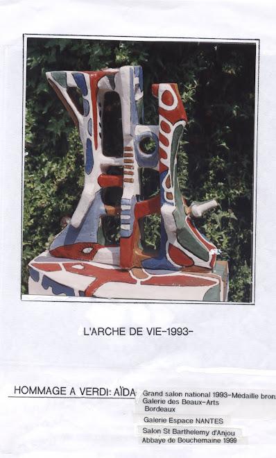 Sculpture pierre de bancourt