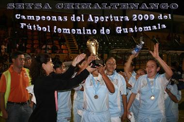 CAMPEONAS APERTURA 2009-2010