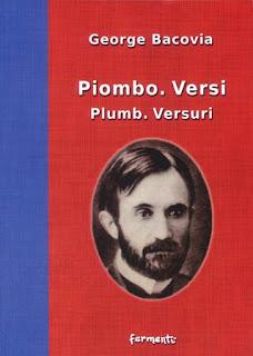 Piombo. Versi / Plumb. Versuri, 2008, copertina