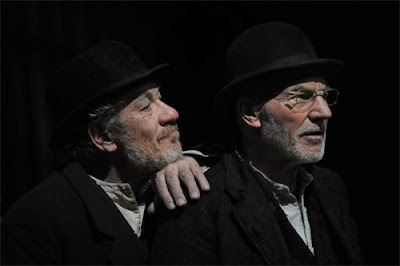 Sir Ian McKellen & Patrick Stewart Waiting For Godot image