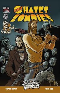 Jesus Hates Zombies comic cover