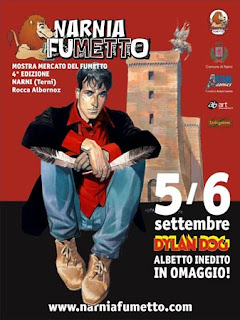 Narnia Fumetto 2009 Dylan Dog poster
