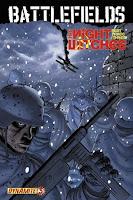 Ennis' Battlelfields comic cover