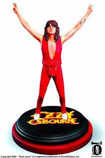 Rock iconz Ozzy Osborne action figure foto
