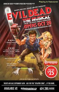 Evil Dead musical poster