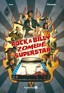 Rockabilly Zombie Superstar #1 comics cover
