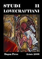 Studi Lovecraftiani 11 rivista copertina