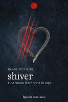 Shiver Stiefvater Rizzoli copertina