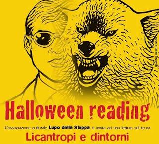Halloween reading licantropi e dintorni verona