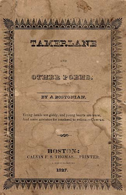 Tamerlane and Other Poems 1827 Edgar Allan Poe cover