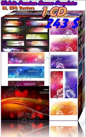 website banner sizes. Premium Website Banners Pack