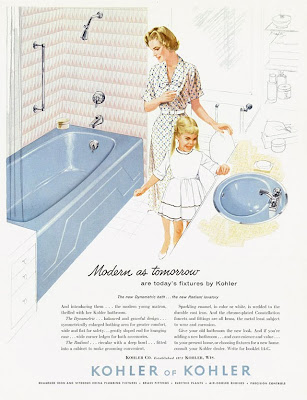 I Think She Hit The Mother Lode This Time Here Is A Series Of Kohler Ads From The 1950s