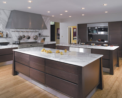 Gorgeous Kitchens Enchanting With Carrera Marble Modern Kitchen Picture