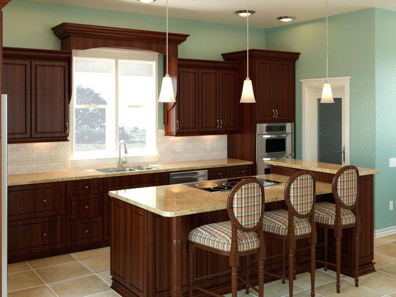 Design Boards Kitchens Blue Cabinets