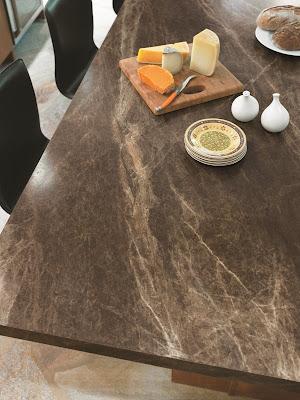 Formica Countertop Cream Quarstone Shown In Actual Kitchen Setting