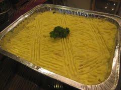 Macaroni Beef Mushroom with Potato