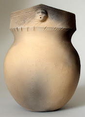 Roger Perkins Moder Iroquois Vase