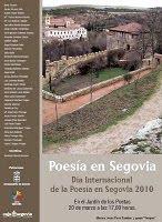 Poesía en Segovia - 20 de marzo de 2010