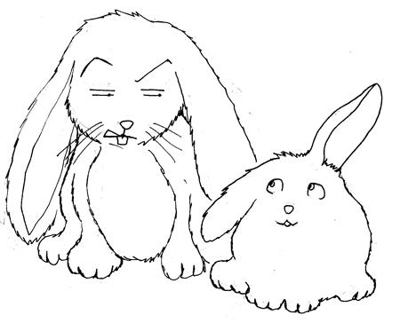 Coelhinhos sao bichinhos limpos e sociaveis, eu tenho o meu que amo mais que tudo !