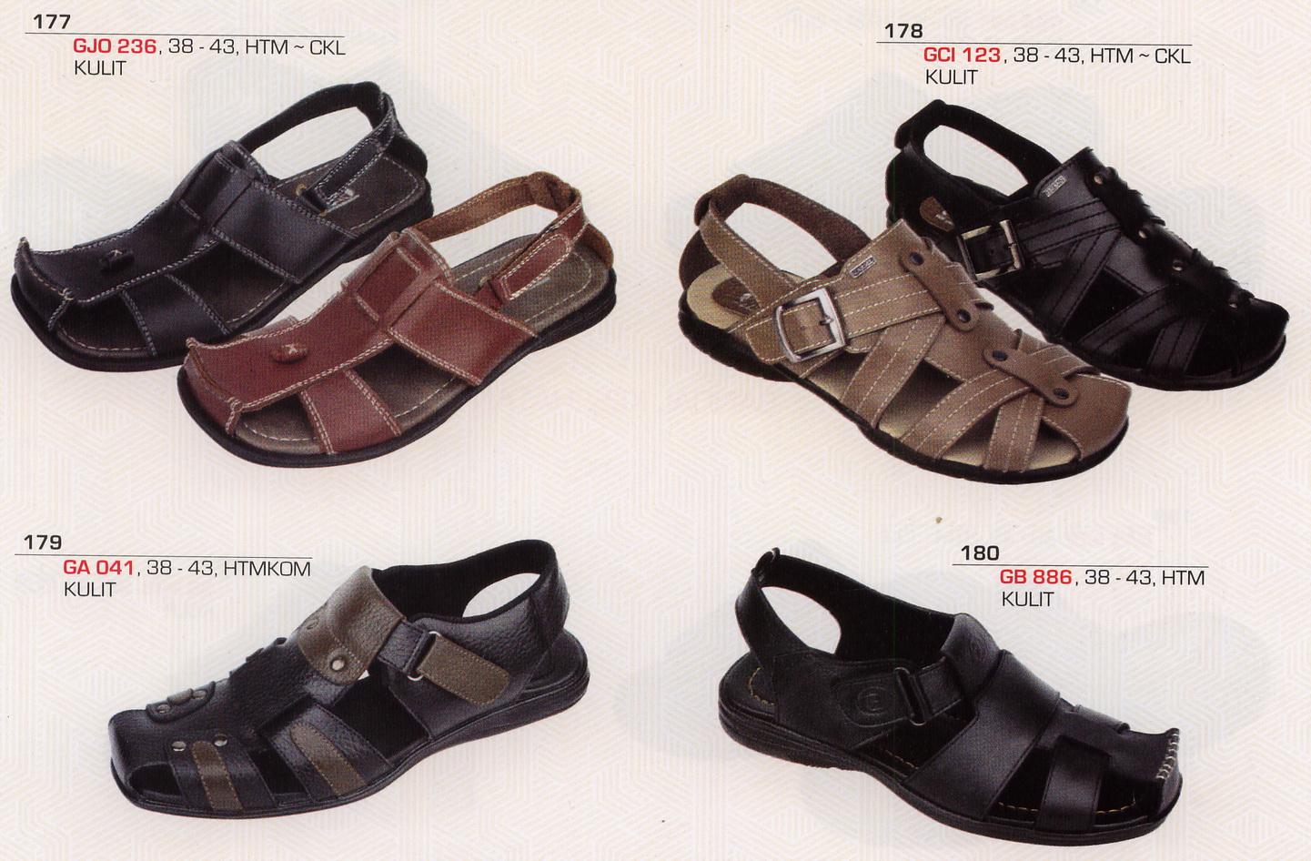 Aneka Sepatu Kulit Asli: SANDAL PRIA KULIT [GARSEL]