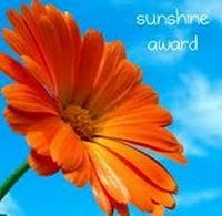 PREMIO SUNSHINE AWARD !!!