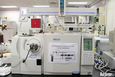 This equipment is also used by CSI. Infact, the chemistry lab can be converted to a crime lab