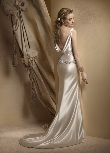 What a Beautiful Wedding Gown