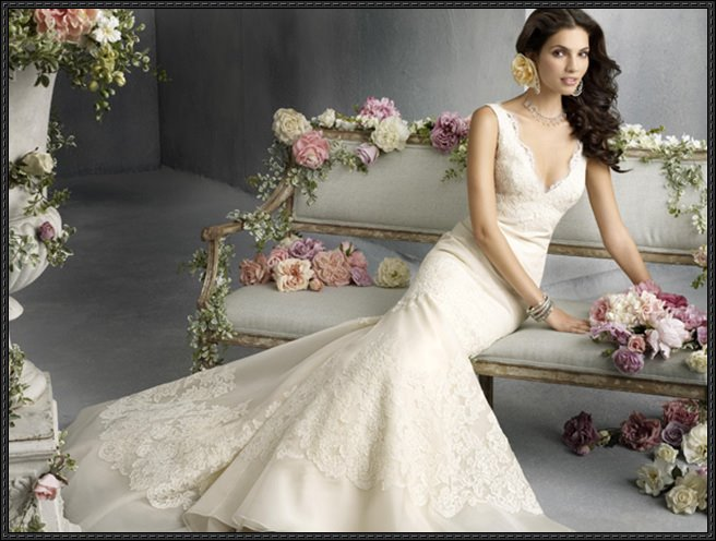 Excelent  Wedding Bridal Gown Dress