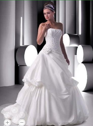 White Beautiful  Bridal Gown Ideas