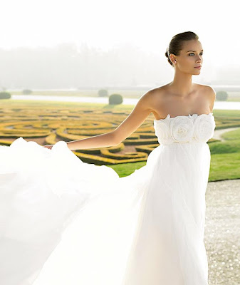 best white wedding dress