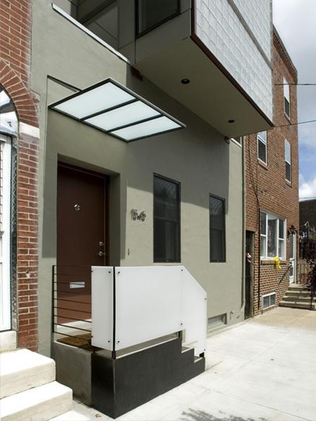 Minimalist house exterior design