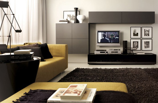 Master living room home interior furniture design ideas for Apartment living room furniture ideas