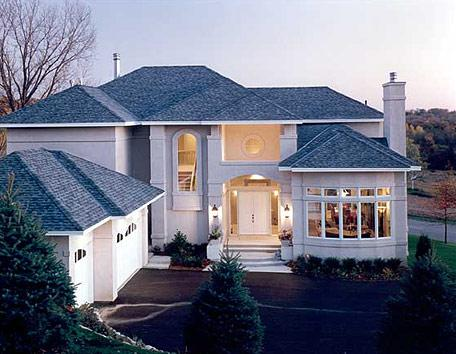 The Exterior Of A European House Plan Combines Old World Elements Into A  Modern Fashion To Offer You A Home That Gives You Everything You Want.