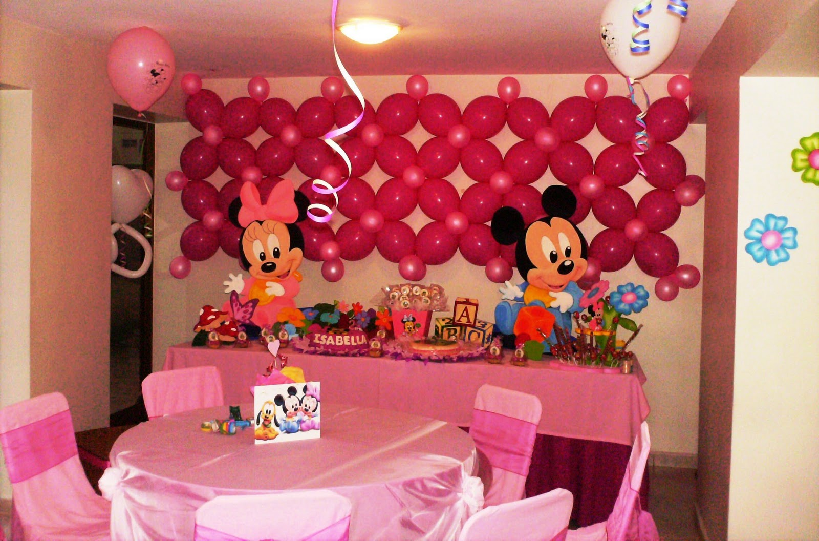 Minnie Decoraciones Fiestas Infantiles ~ Creaciones Ramsesa Decoraciones Fiestas Infantiles