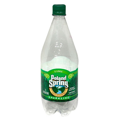 Poland Spring Sparkling Water Lime Essence