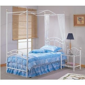 Twin Iron Beds, Antique Twin Beds, Twin Canopy beds, and Twin
