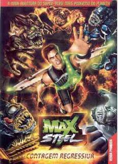 Telona - Filmes rmvb pra baixar grátis - Max Steel - Contagem Regressiva DVDRip Dublado