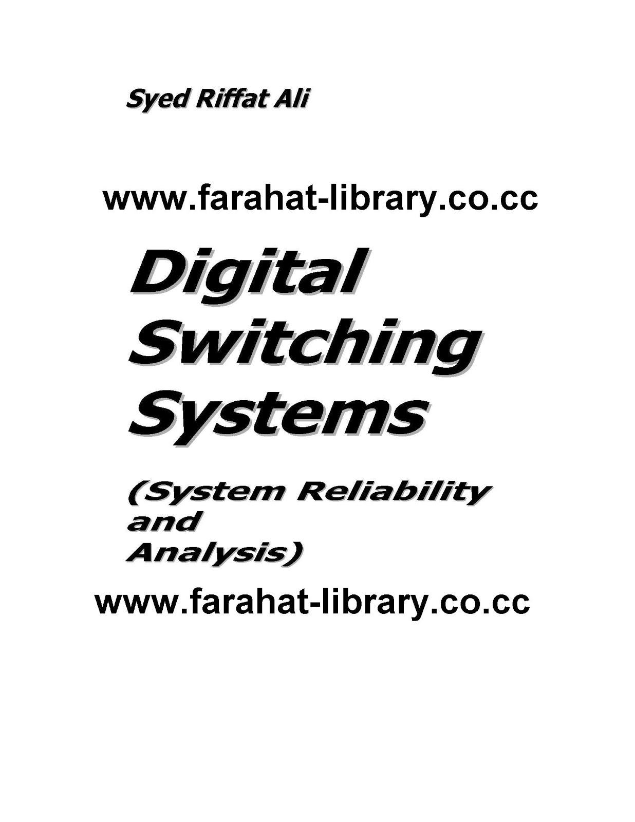 u062a u062d u0645 u064a u0644  u0643 u062a u0627 u0628 digital switching systems  u0627 u0648  u0627 u0644 u062a u0628 u062f u064a u0644  u0627 u0644 u0631 u0642 u0645 u064a  u0639 u0644 u064a